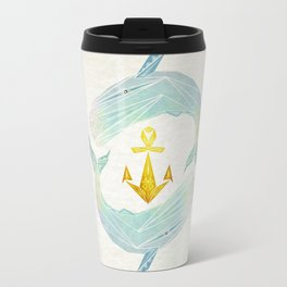 white whale Travel Mug