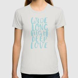 LOVE inifinite - BLUE T-shirt