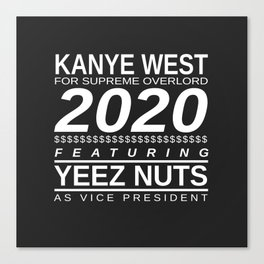 YEEZ NUTS Canvas Print
