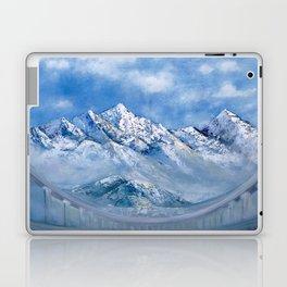 Himalayas. mountain landscape Laptop & iPad Skin