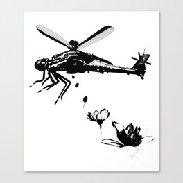 Helicopter.. Canvas Print