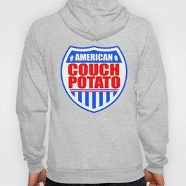 American Couch Potato Hoody