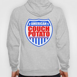 American Couch Potato Hoody