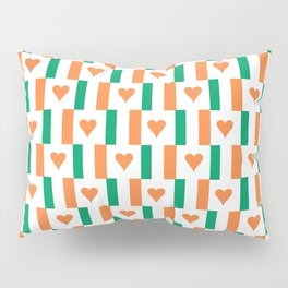 flag of ireland 13 -ireland,eire,airlann,irish,gaelic,eriu,celtic,dublin,belfast,joyce,beckett Pillow Sham