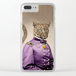 Grand Viceroy Leopold Leopard Clear iPhone Case