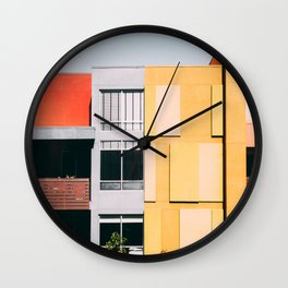 Los Angeles Architecture Wall Clock