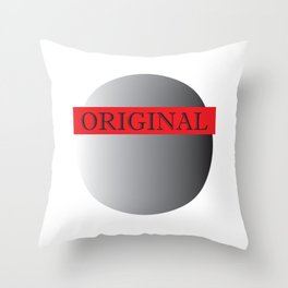Pluto's Original Throw Pillow