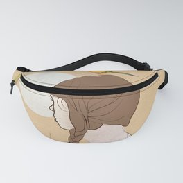 Twilight of the moon Fanny Pack