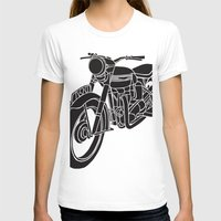 motorcycle T-shirts featuring Motorcycle by Gemma Bullen Design