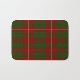 Cameron Red & Green Tartan Pattern #2 Bath Mat