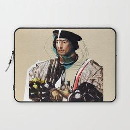 Jan Gossaert and the Buisness Man Laptop Sleeve