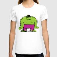 hulk T-shirts featuring Hulk by Remco Drijver