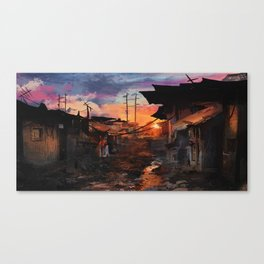Where Heroes Are Canvas Print
