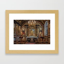 Wedding Chapel Framed Art Print