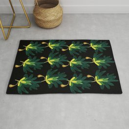 Pears and Leaves Rug