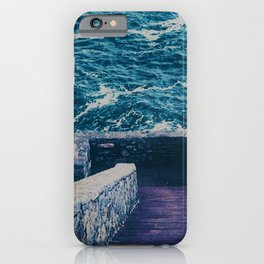 The 40 Steps - Cliff Walk - Newport, Rhode Island iPhone Case
