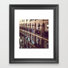 You've Got Mail Framed Art Print