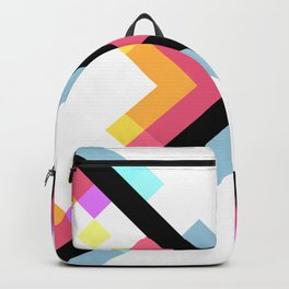 Abstract Retro Pattern 05 Backpack