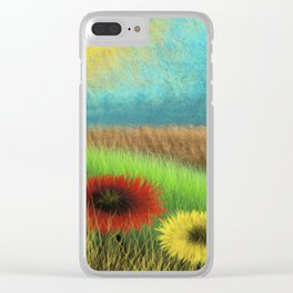 Woolly View Clear iPhone Case