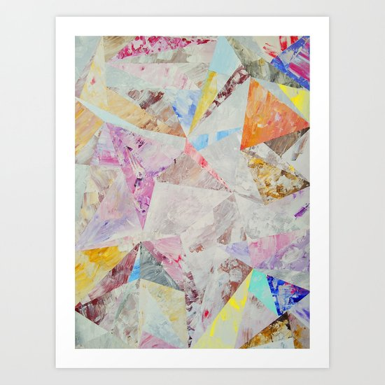 Abstract painting 25 Art Print