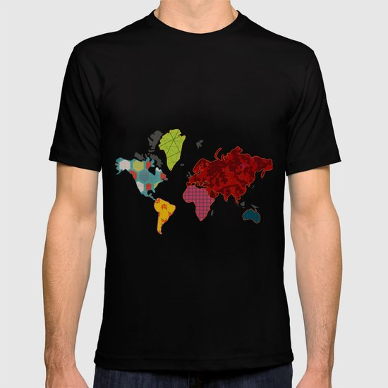 Simi's Map of the World T-shirt