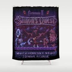 Simon's Vania Castle Quest Shower Curtain