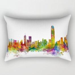 Hong Kong Skyline Rectangular Pillow