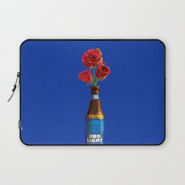 Dudes Love Roses (Blue) Laptop Sleeve