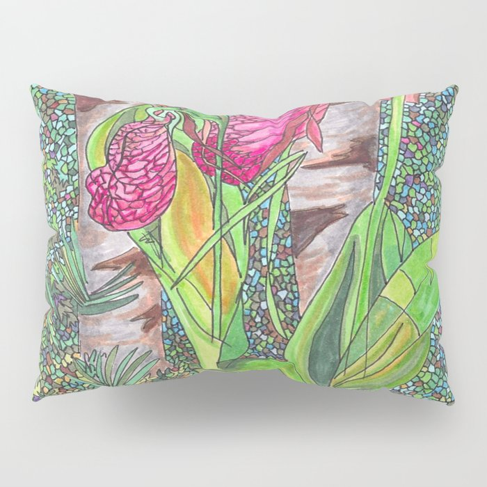 Lady Slippers Pillow Sham