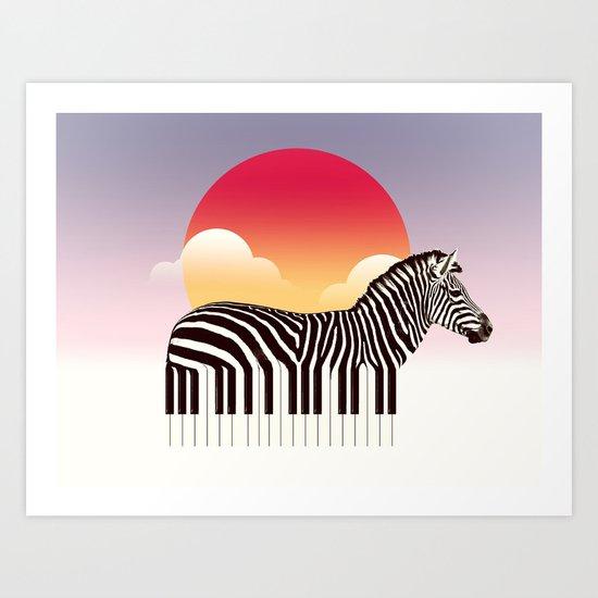 Zeyboard Art Print