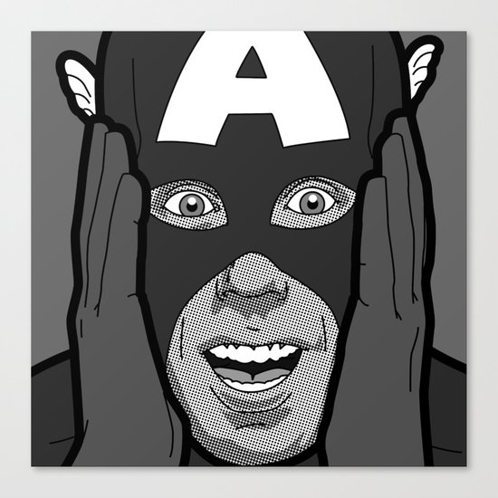 The secret life of heroes - Photobooth2-4 Canvas Print