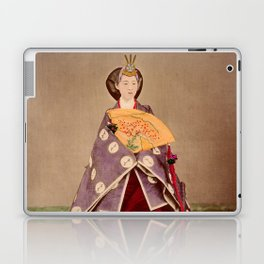Japanese Empress Shōken Laptop & iPad Skin