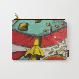 Snail and mushrooms Carry-All Pouch