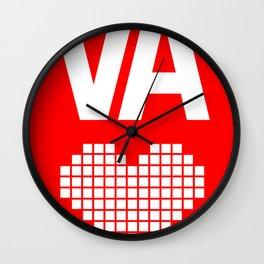 Virginia Love Wall Clock