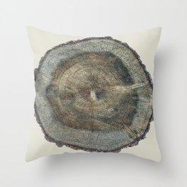 Stump Rings Throw Pillow