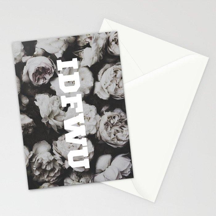 IDFWU Flowers 2 Stationery Cards