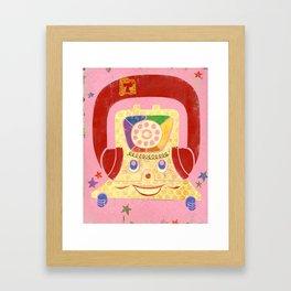 T is for Telephone Framed Art Print
