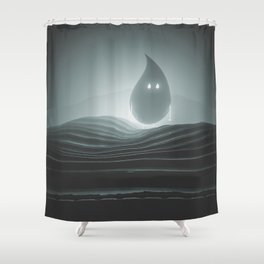 glo farts Shower Curtain
