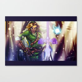 The Hero of Time... Canvas Print