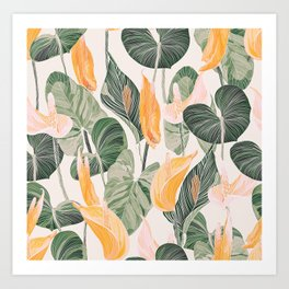 Lush Lily - Autumn Art Print