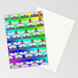 tri-sellate rainbows Stationery Cards