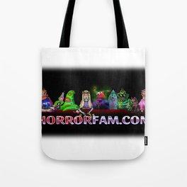 HorrorFam.com Monster Fam Tote Bag