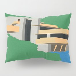 Falling Water Pillow Sham