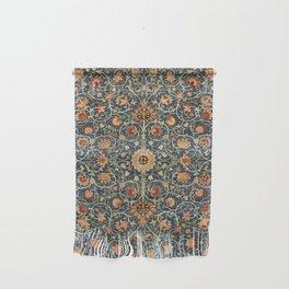 William Morris Floral Carpet Print Wall Hanging