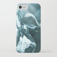 soul eater iPhone & iPod Cases featuring Aoelia the Soul Eater by Jiyu-Kaze™