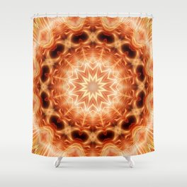 Mandala Glory Shower Curtain