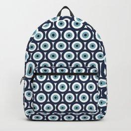 Evil eye pattern Backpack