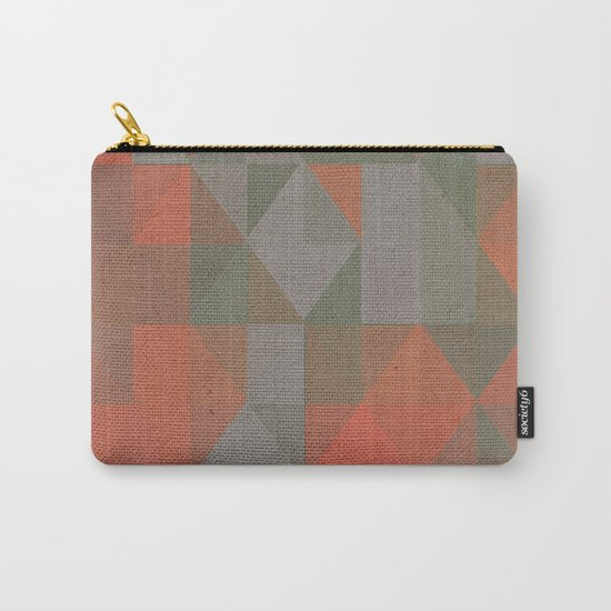 Faceted Vibes Carry-All Pouch