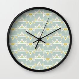 Crown Deco Wall Clock