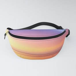 Abstract Sunset IV Fanny Pack